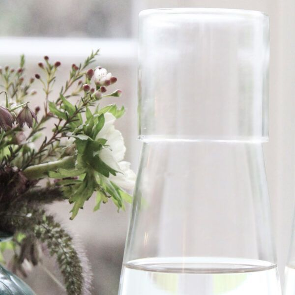 carafe-with-glass-on-table