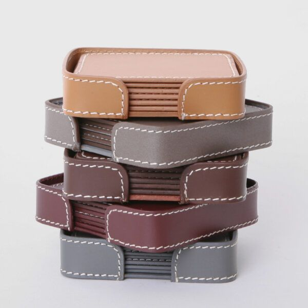 squared-leather-coasters