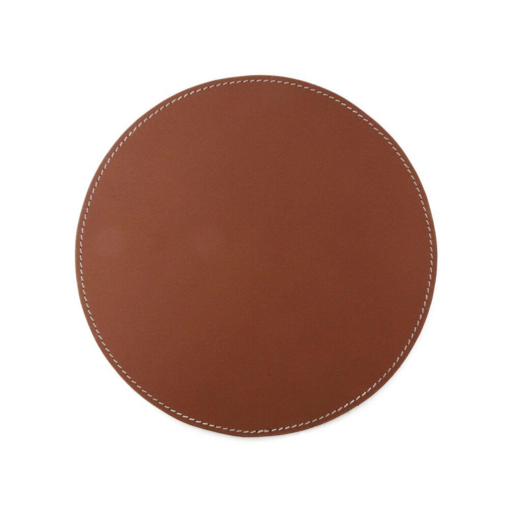 Round-Mousepad-cognac